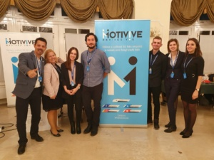 The Motivive team at NATO Innovation Day