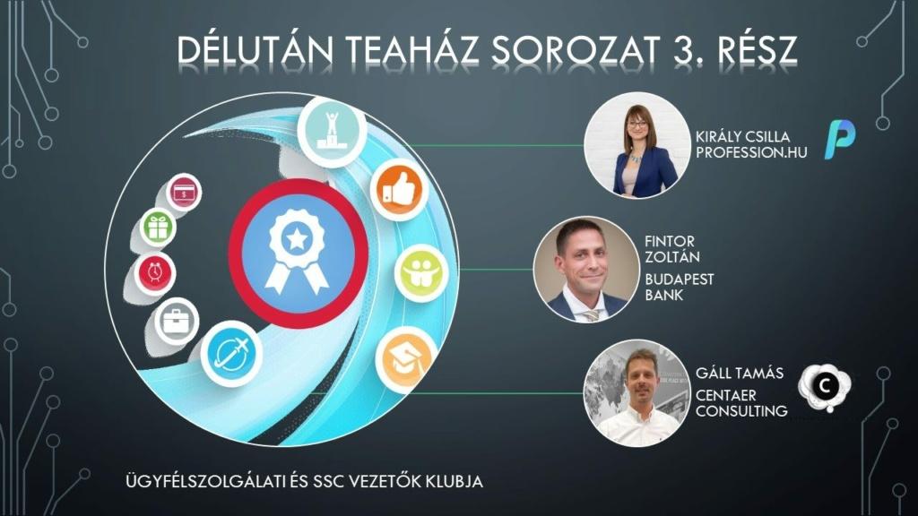 Online szakmai beszélgetés előadói: Király Csilla, Fintor Zoltán és Gáll Tamás